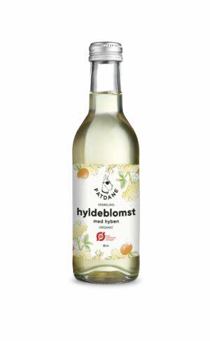Fatdane Hyldeblomst med Hyben Øko, 25 cl. 24 stk