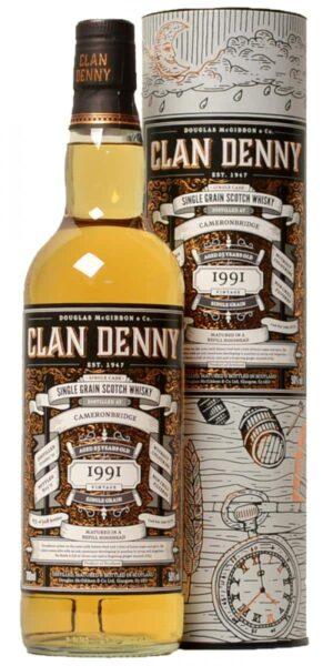 Clan Denny - Cameronbridge 25 Single Grain