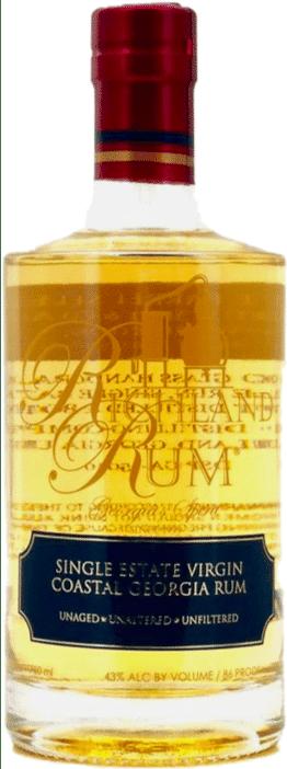 Richland Rum Single Estate Virgin Coastal