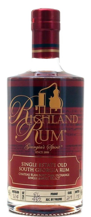 Richland Rum Chateau Elan Port Cask Exchange