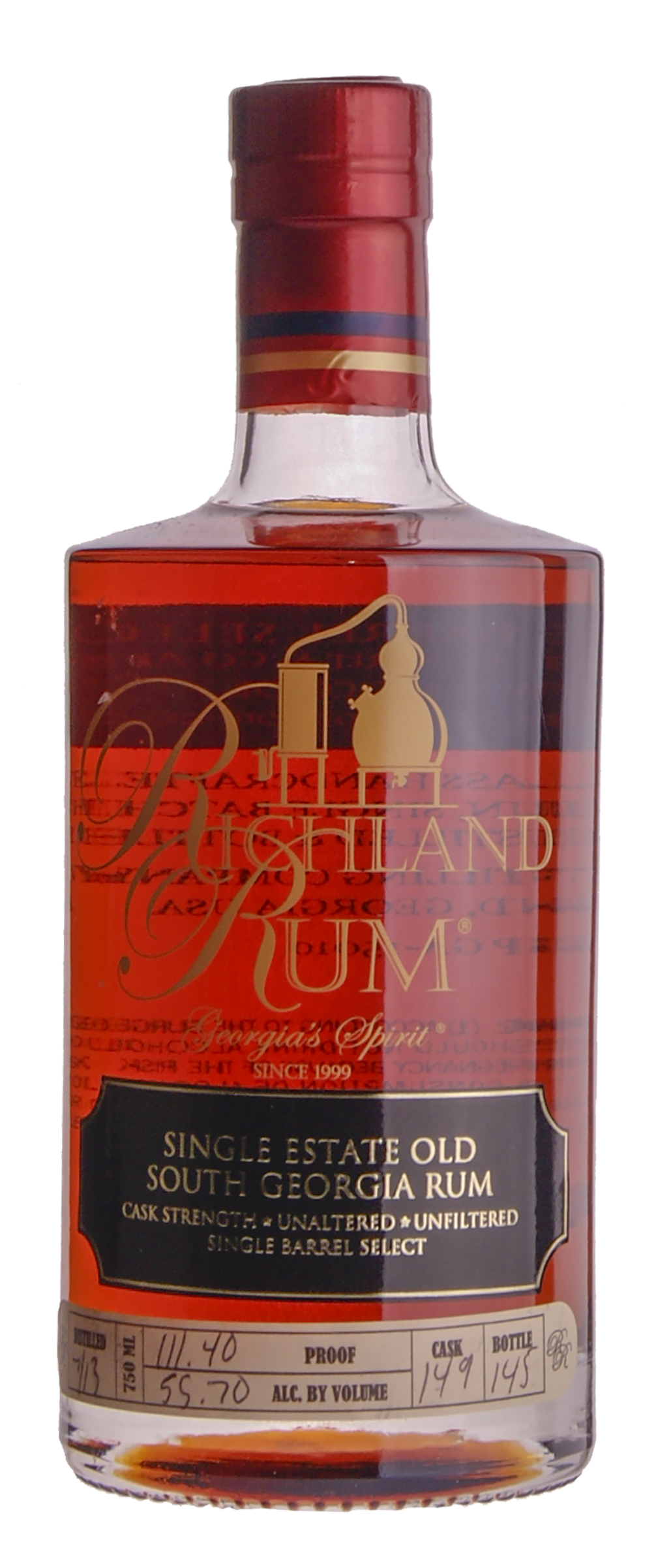 Privat: Richland Rum Old South Georgia Cask Strength