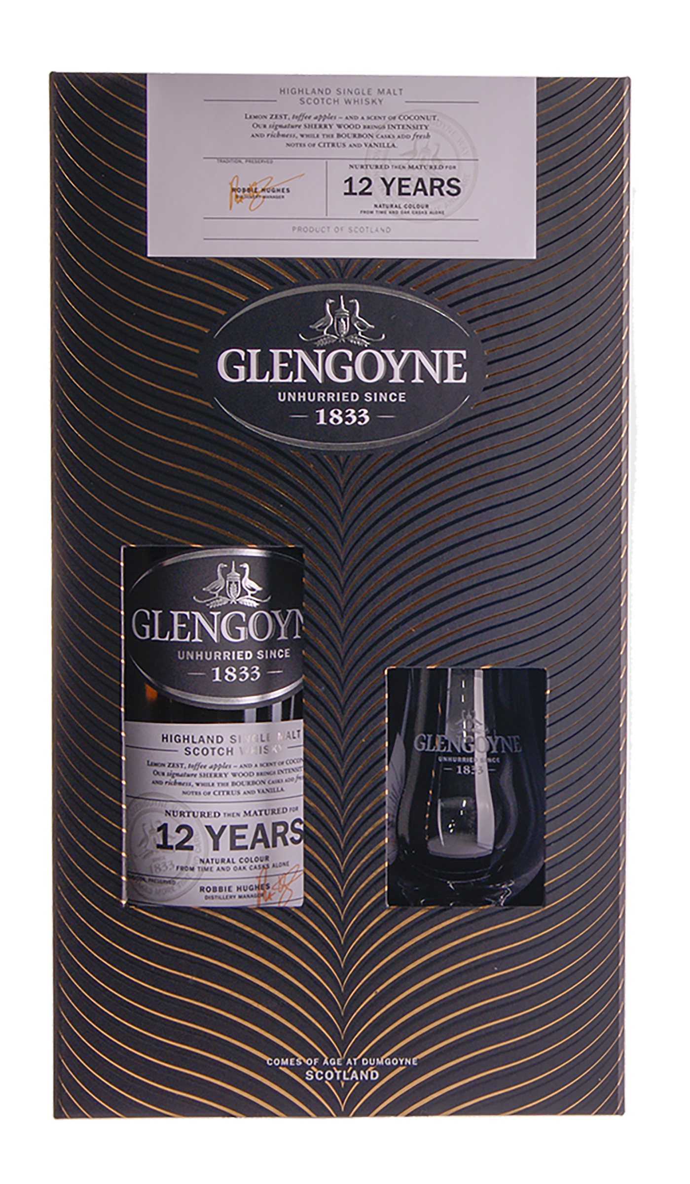 Privat: Glengoyne 12yo med Glas