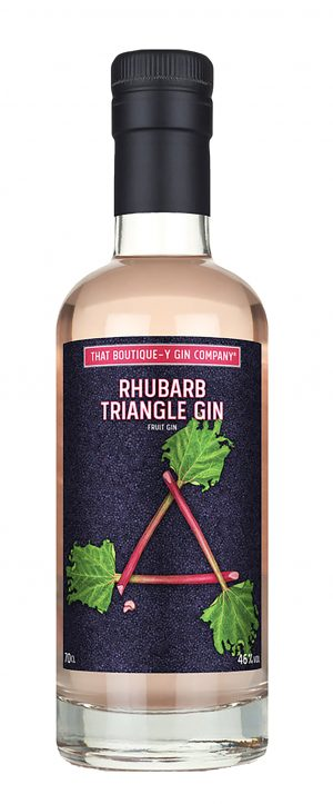 That Boutique-y Gin Triangle Rhubarb 70cl
