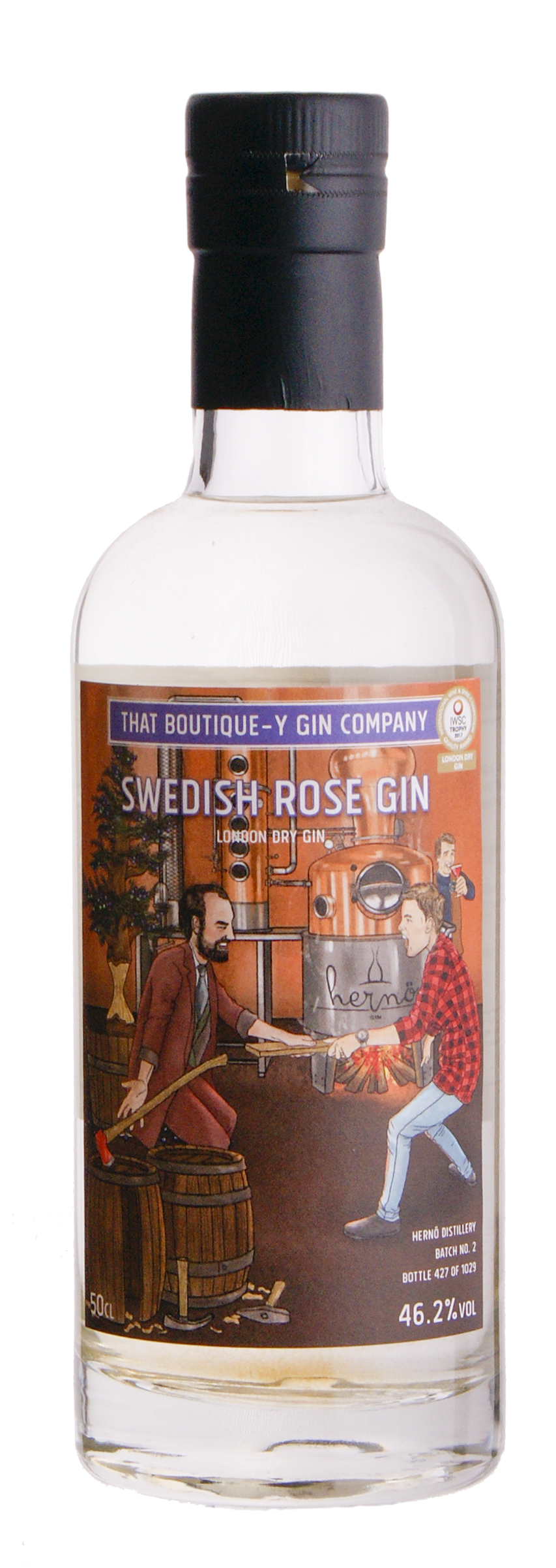 That Boutique-y Gin Swedish Rose 50 cl.