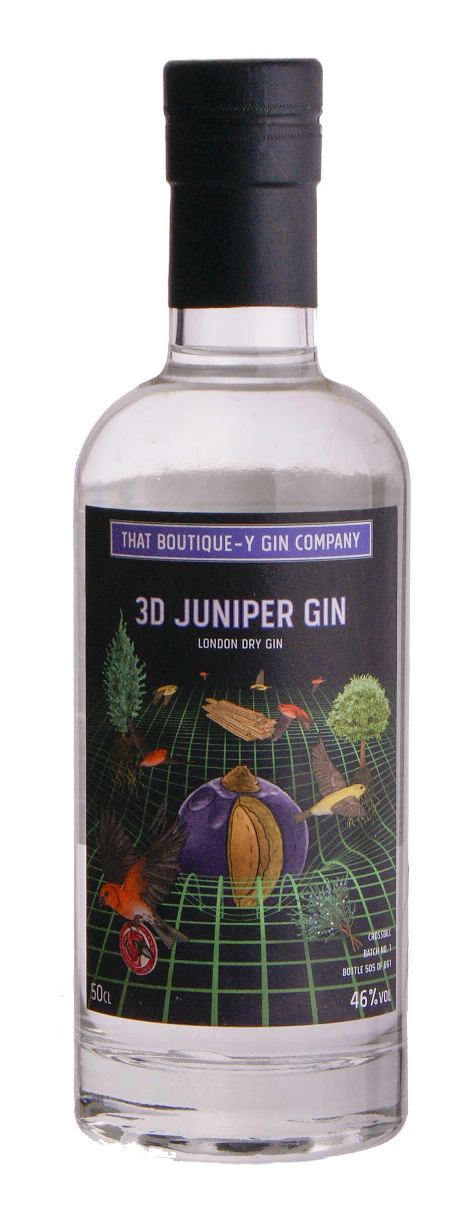 That Boutique-y Gin 3D Juniper 50 cl.