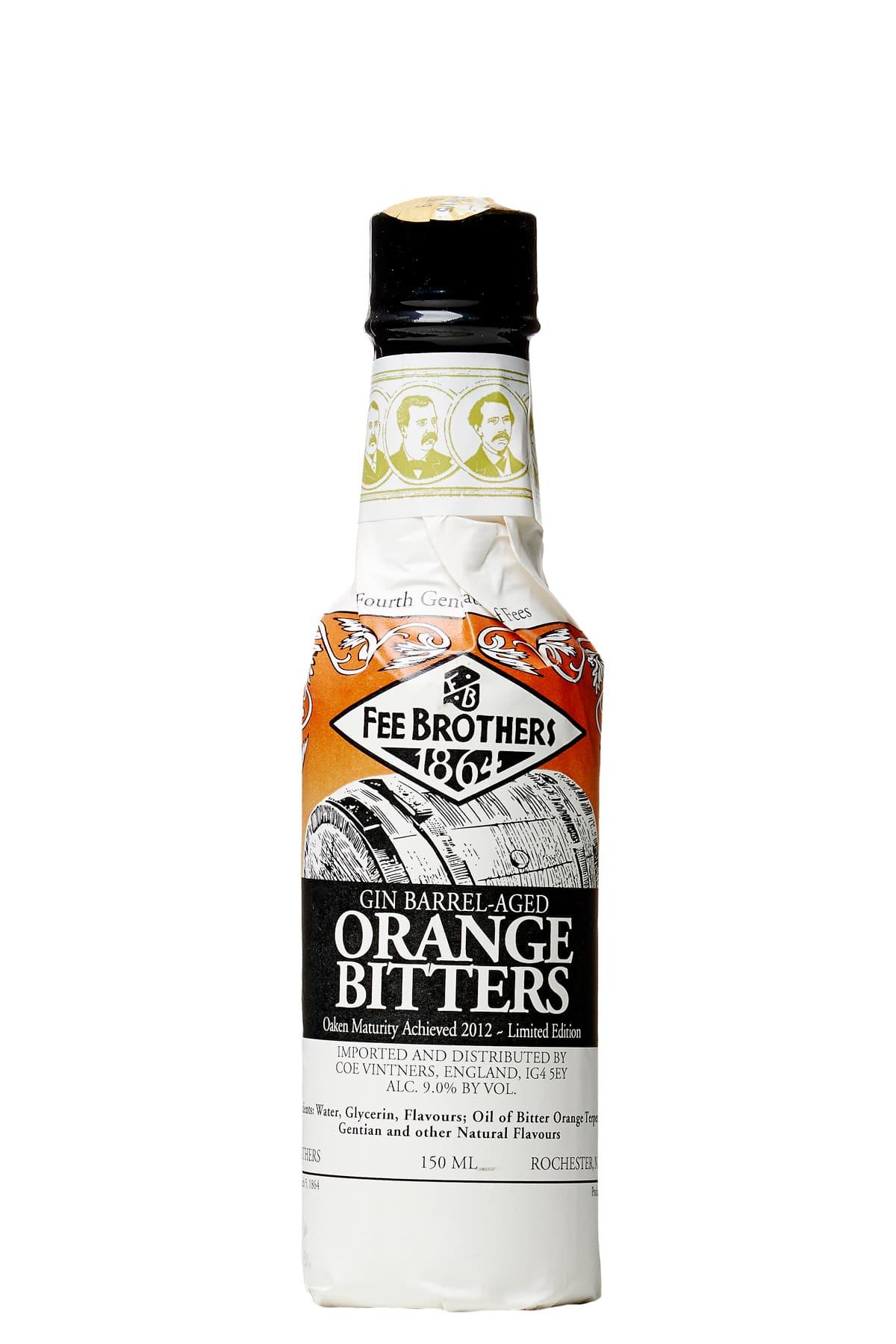 Fee Brothers Gin Barrel Aged Orange
