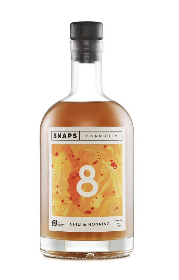 Snaps Bornholm Chili & Honning - Øko