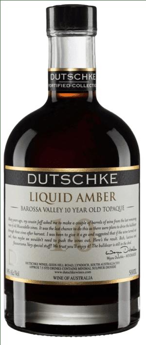 Dutschke Old Liquid Amber Tokai 10 års