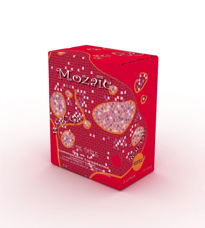 Domaine de Carbonnel – Mozaic Rouge Languedoc 10L