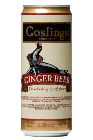 Goslings Ginger Beer, 24stk, 33cl, 6pak