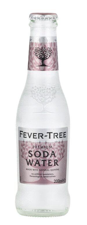 Fever Tree Soda Water, 24stk, 20cl