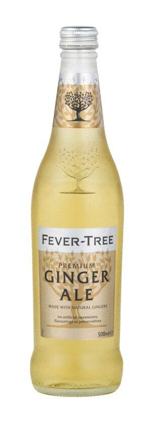 Fever Tree Ginger Ale, 8stk, 50cl