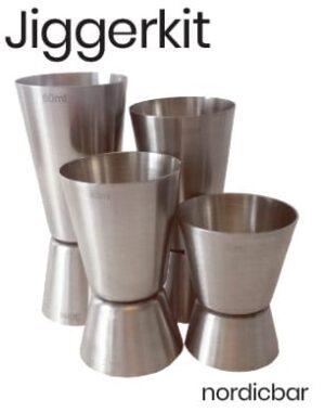 JiggerKit 15/20/25/30/40/50/60 ml
