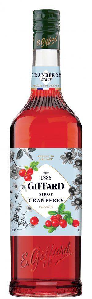Giffard Cranberry Syrup