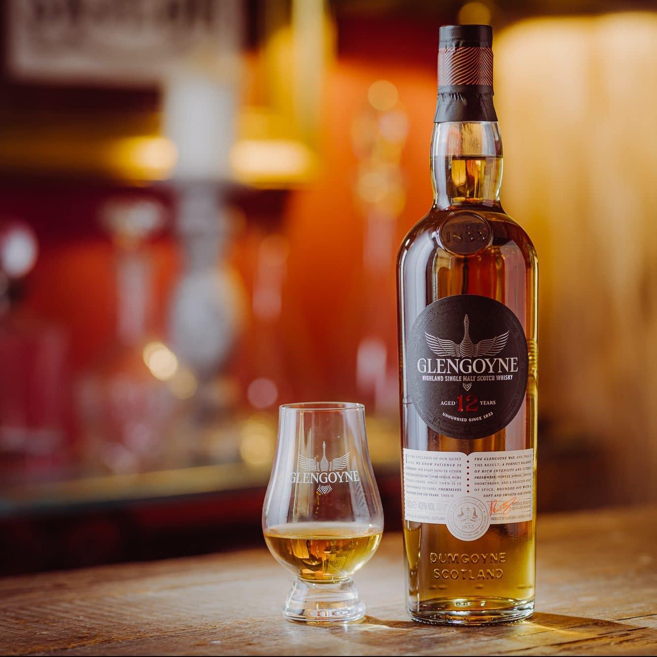 Billede af Glengoyne Whisky og flaske