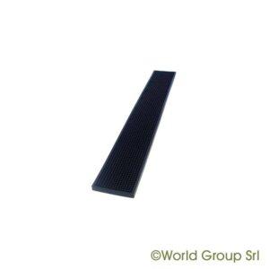Barmåtte Sort luksus 70x10 cm