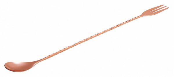 Barske 30 cm Gaffel Kobber