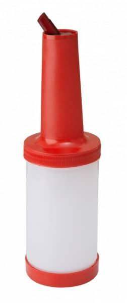 Juice Speed Bottle 1Liter Rød