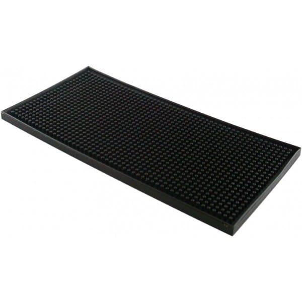Barmåtte 15x30 cm sort
