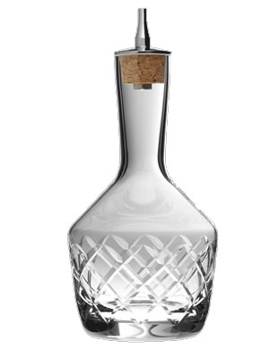 Dash Bottle Diamond Cut 20 cl