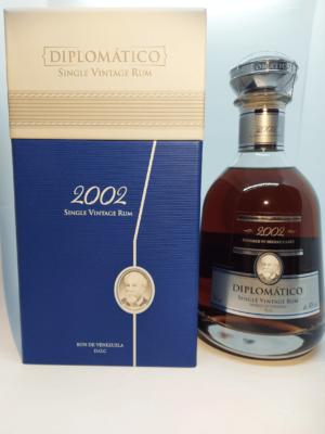 Diplomático Single Vintage 2002