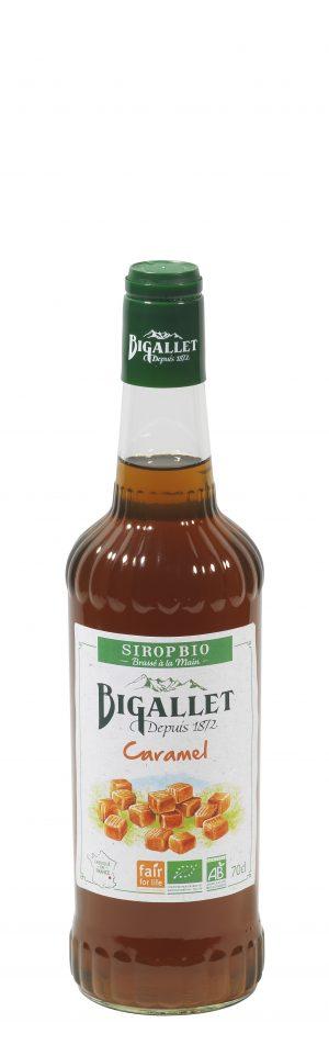 Bigallet Sirup Caramel Øko