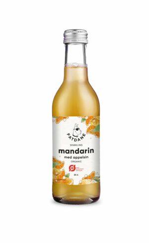 Fatdane Mandarin med Appelsin øko, 20 cl. 24 stk